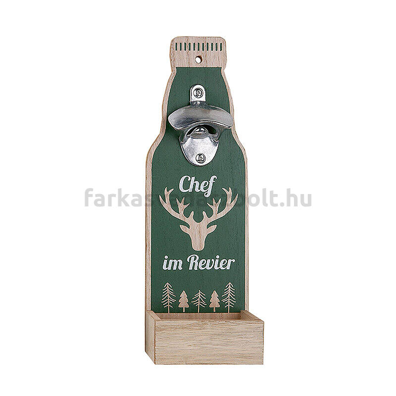 Sörnyitó állvány üveg alakú Chef im Revier