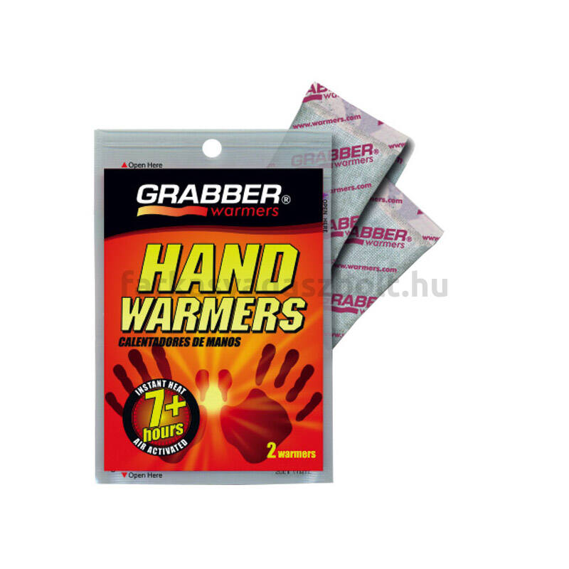 Kézmelegítő, Grabber, 1 pár/csomag, 7+ órás