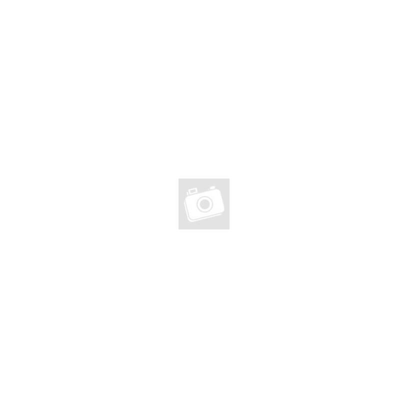 Bőr pénztárca, Giorgio Carelli, RFID védelemmel, mini, fekvő, csatos, fekete, díszdobozban